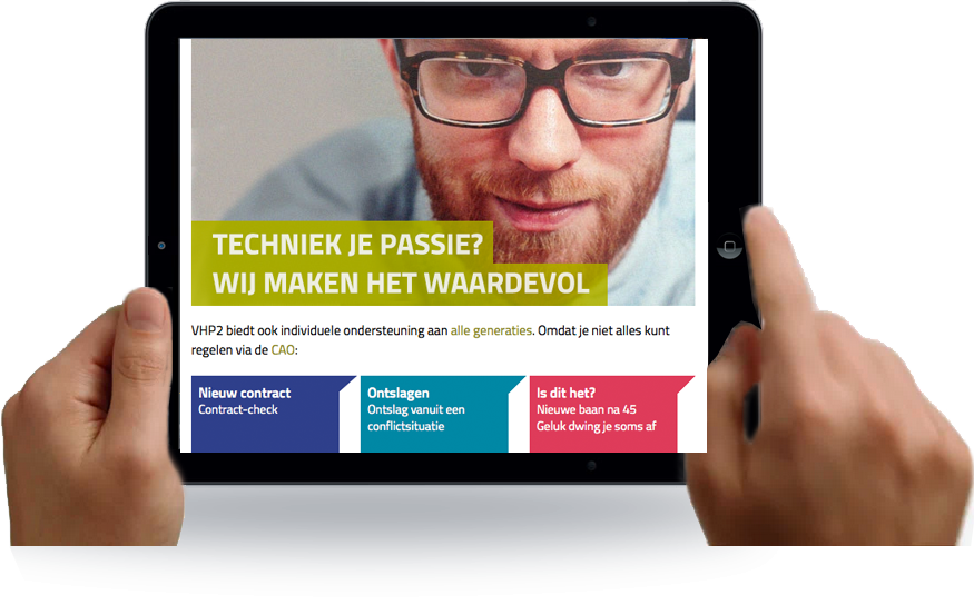 VHP2 belangenbehartiging voor tech talent